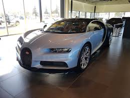 bugatti showroom a bugatti chiron was in calgary this past weekend seen here at