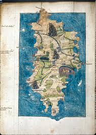 Tropic Of Cancer Map Maps Of Crete From 1296 1528 Ad