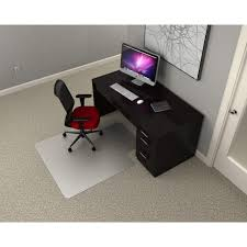 office rectangular polycarbonate chair mat for carpets over