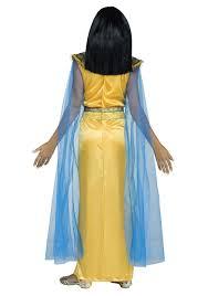 Egyptian Halloween Costumes Kids Girls Golden Cleopatra Costume