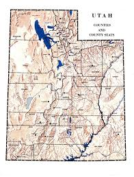 Map Of Counties In Utah by Teacherlink Utah State University