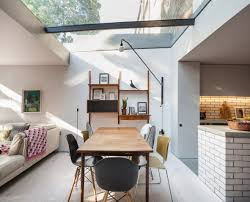 architect revamps victorian townhouse into airy family home curbed