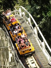 Lake George Six Flags Historic Wooden Roller Coasters Trusted Since 1904