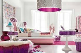 Gorgeous Bedrooms White Wall Theme And Pink Bed On Pink Rug Connected By Glass