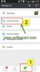 scan barcode android scan qr code using wechat on android phone