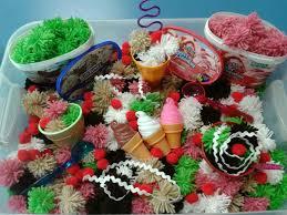 thanksgiving sensory bin ice cream sensory bin my sensory bins pinterest sensory boxes