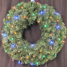 battery operated wreath pre lit wreath battery operated