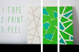 Cool Diy Wall Art by Easy Wall Art Painting Ideas Wallartideas Info