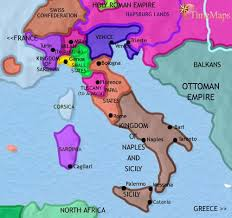italy map map of italy at 1789ad timemaps