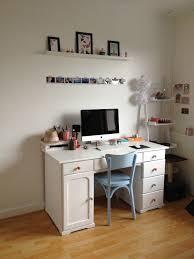 bureau chambre ikea idee deco bureau vintage etagere imac chambre