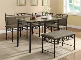 Dining Room Booth by Kitchen Set Of 6 Dining Chairs Round Pedestal Dining Table