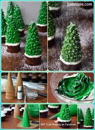 diy christmas tree cupcakes diy craft projects