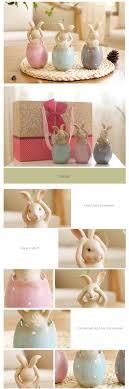 bunny decoration set apollobox