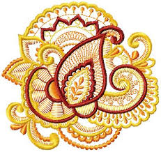 ornament embroidery designs 01