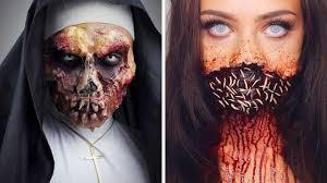 top 15 diy halloween makeup tutorials compilation 2017 part 4