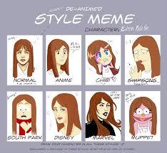Memes D - slightly de anime d style meme eileen by fauxlyn on deviantart