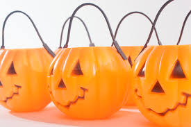 plastic pumpkins plastic pumpkins stock image image of color celebration 34355161
