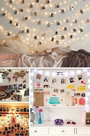 Fairy Light Wall by Dorm Room Lighting Hometown Evolution