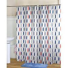 Blue And Orange Curtains Orange And Gray Shower Curtain Curtains Ideas