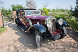 roll royce rolls rolls royce phantom i vintage wedding car distinctly vintage