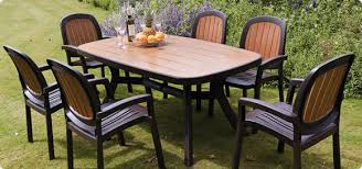 Plastic Outdoor Furniture by Garden Furniture Plastic Homes And Garden