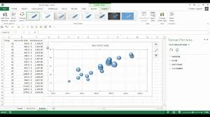 cara membuat grafik integral di excel how to create a bubble chart in excel youtube