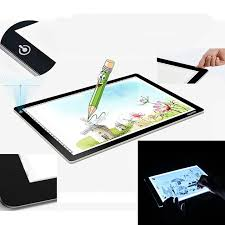 dimmable acrylic led drawing board light stencil touch board