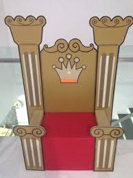 How To Make A Cardboard Chair Throne Clipart Simple Pencil And In Color Throne Clipart Simple