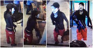 gunman who wore guy fawkes mask in north little rock bank robbery