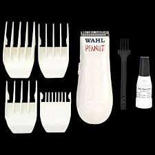 wahl peanut white clipper u0026 trimmer