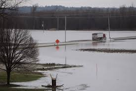 Flooding Missouri Map West Alton Urges Residents To Leave As Missouri River Rises