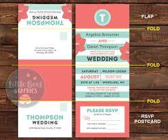 send and seal wedding invitations tri fold wedding invitations with perforated rsvp seal and send