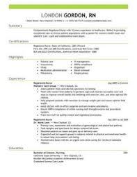 Resume Templates For Nursing Jobs Best Registered Nurse Resume Templates Pictures Simple Resume