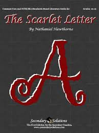 the scarlet letter common core teaching guide
