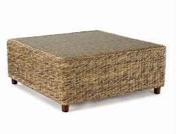 Rattan Coffee Table Seagrass Coffee Table Tangiers Wicker Paradise