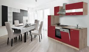 einbau küche respekta küche küchenzeile einbauküche küchenblock 250 cm eiche