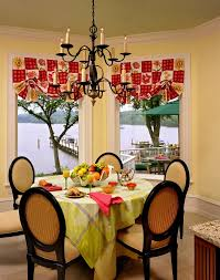 dining room valance window valance ideas dining room traditional with balloon shades