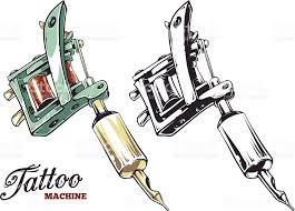 tattoo machine vector stock vector art 512101151 istock