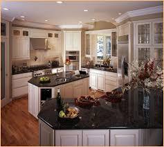 black granite countertops with white cabinets creative antique white kitchen cabinets with black granite