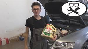Audi Q5 5w30 - audi a6 3 0 öl wechseln audi a6 3 0 change oil vitjawolf