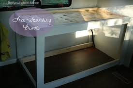 Class A Motorhome With Bunk Beds Rv Bunk Remodel Turning A Class A Master Bedroom In A Bunkroom