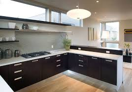 kitchen without upper wall cabinets feldman architecture