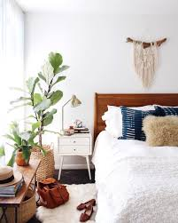 newdarlings instagram boho mid century bedroom macrame and