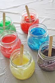 easy greek yogurt finger paint catch my party