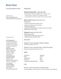Example Artist Resume by Resume Demo Resume Cv Cover Letter