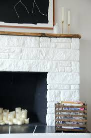 brick vs stone fireplace ideas ledge veneer applied spruce beam