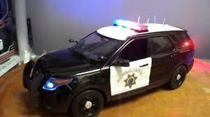 california model car 2016 california highway patrol ford pi explorer 1 18