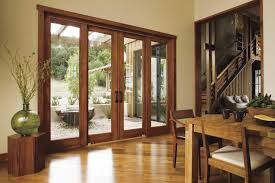 Wood Patio Doors Hinged Patio Doors Large Home Ideas Collection View Of