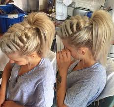 Braided Ponytail Hairstyles 40 Cute Ponytails With Braids