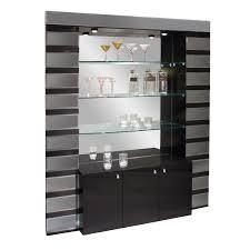 Home Bar Furniture by Elite Home Bar Wenge Hayneedle
